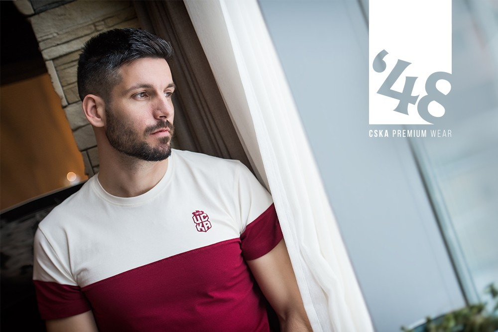 BE RED AT HEART WITH 48 CSKA PREMIUM WEAR