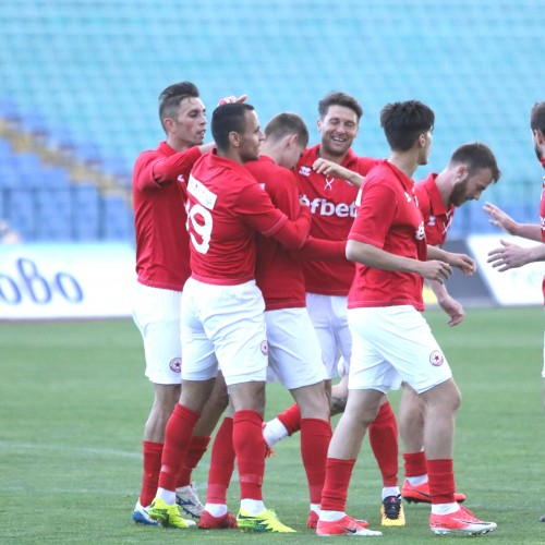 CSKA dominate Nesebar 2-0 at Vasil Levski National Stadium