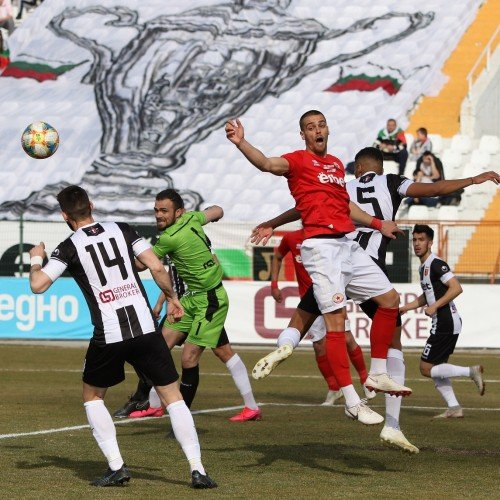 CSKA 1948 OUT OF NATIONAL CUP TOURNAMENT AFTER LOSING 0-2 IN PLOVDIV