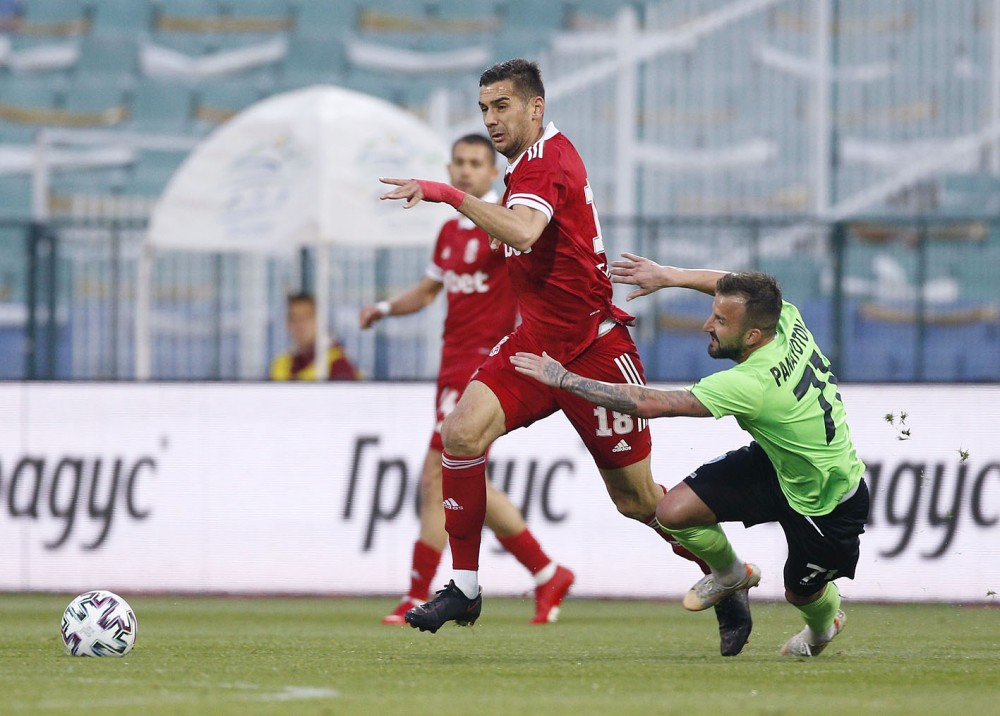 CSKA with a goalless draw against Cherno more