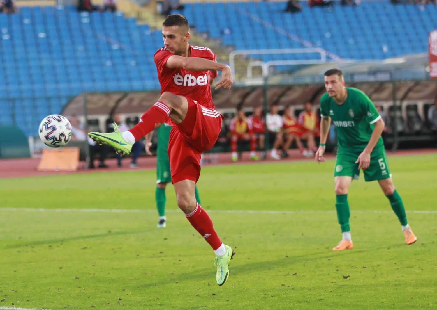 Ivaylo Chochev is Player №1 of the 7th round in efbet League