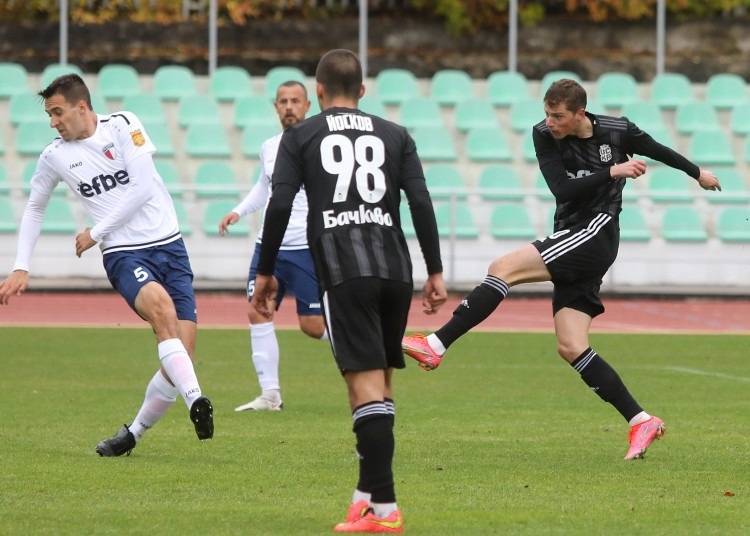 CSKA with a routine 2:0 win over Marek in a friendly game
