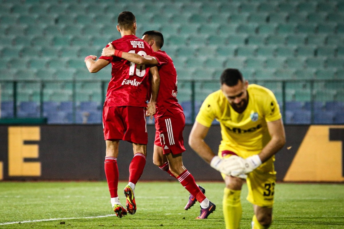 CSKA with third consecutive home win! Goal by Chochev from a penalty and 1:0 against Beroe!
